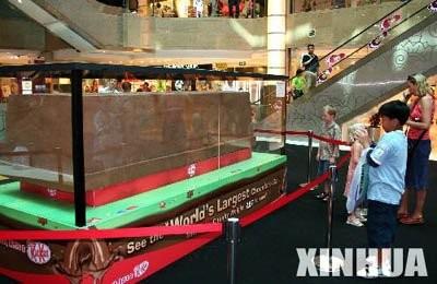 世界最大のチョコレートバー