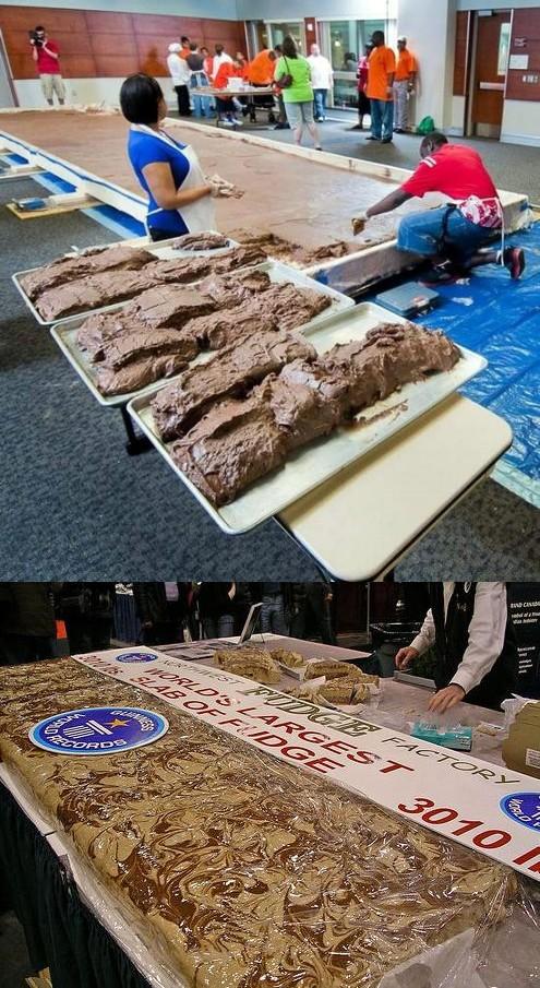 世界最大のチョコレートキャラメル