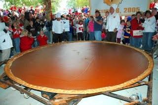 世界最大のカボチャパイ