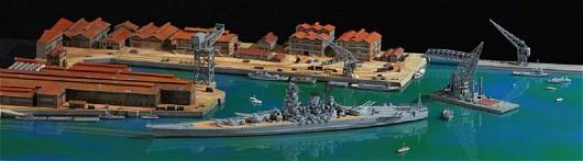 地上航行模型シリーズ 戦艦大和