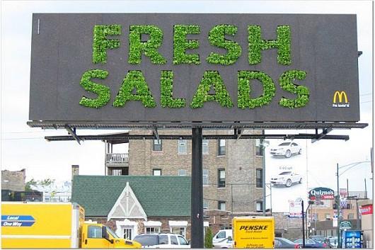 文字通り「フレッシュなサラダ」