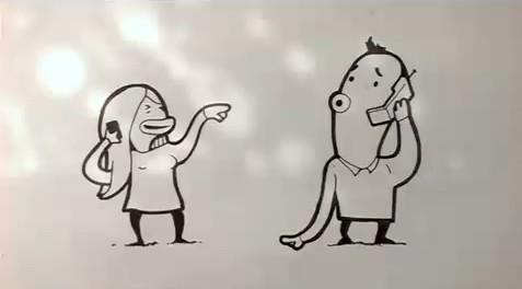 コミュニケーションの歴史。