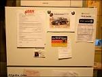 冷蔵庫に色々貼りつけイメージ