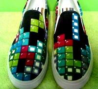 テトリスな靴イメージ