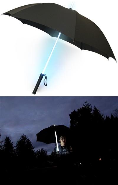 LED付の傘