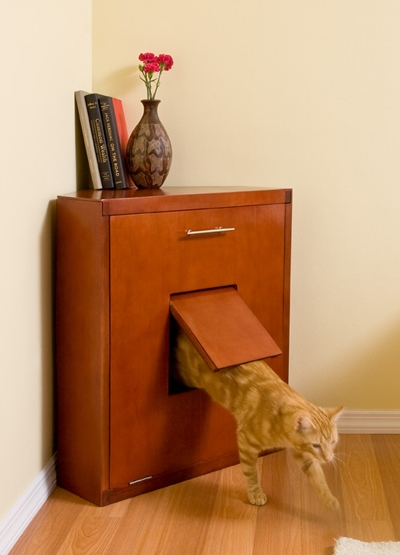 Cat Box Furniture Plans