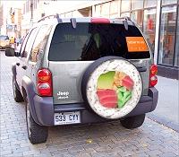 お寿司屋さんの広告イメージ