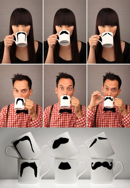 色々見ている人を笑わせてくれるマグカップ