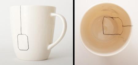 「定位置」なマグカップこと「Teabag Mug」