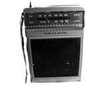 旧スタイルの携帯ラジオを使ったケースイメージ
