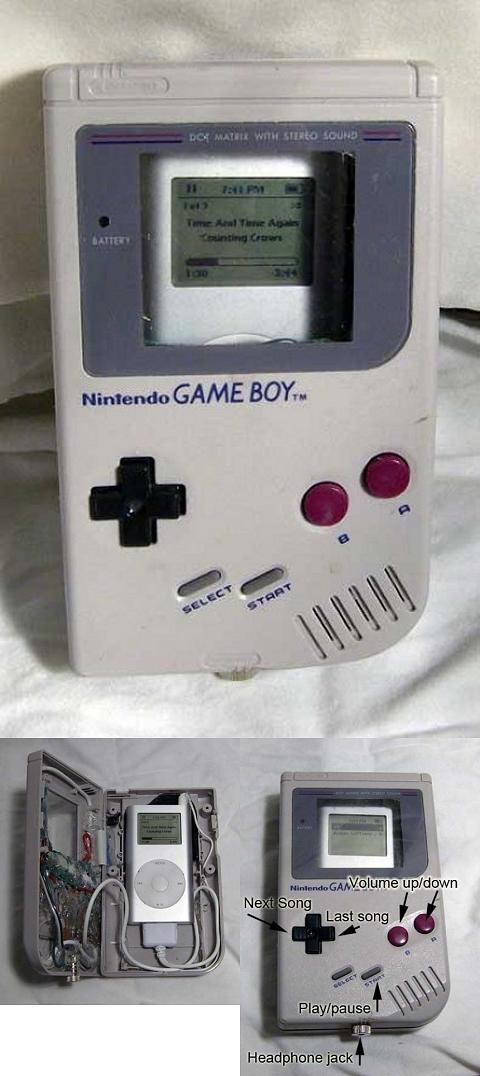 ゲームボーイ型iPodケース