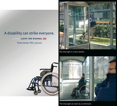 「あなたの目の前にいる人も、車いすを使わねばならなくなるのかもしれません」