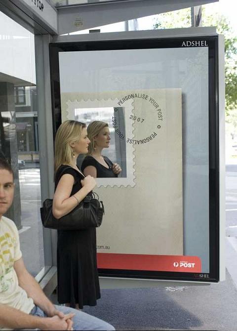 はたから見れば記念切手を使った封筒、に見えてしまう