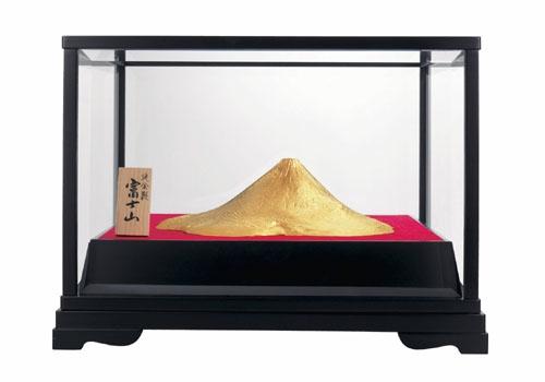 純金製富士山