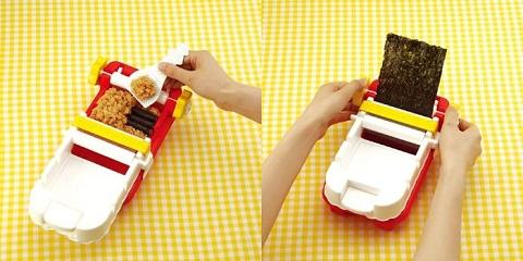 ↑ 調理玩具なだけに、作り方もおもちゃを操作しているかのようにシンプル