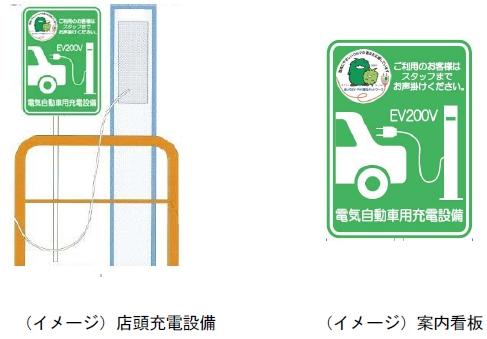 ↑ パナソニック電工製造の普通充電スタンド「ELSEEV(エルシーヴ)」