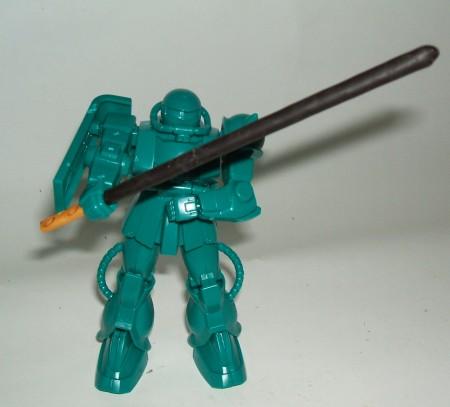 完成したMS-06FザクII