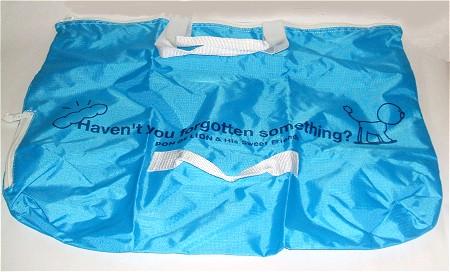 ポリエステル製の大型手さげ袋