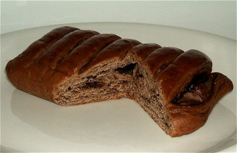 「チョコクリームパン」。