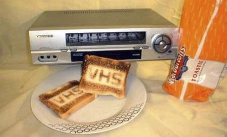 VHSトースター。