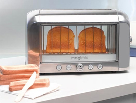 Toaster vision francais。