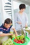 野菜を洗うイメージ
