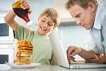 自宅で朝食イメージ