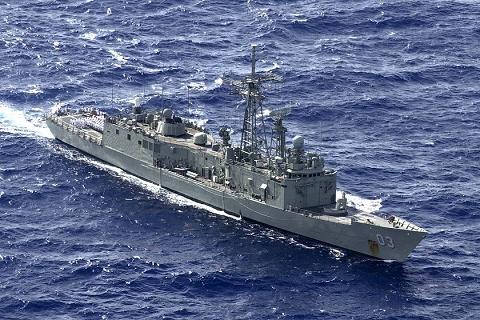 ↑ アデレード級ミサイルフリゲート艦(Adelaide Class Guided Missile Frigate)