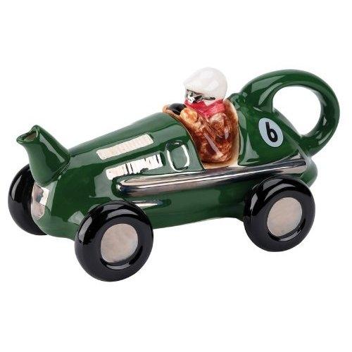 ↑ レースカーのティーポット。子供が喜びそう。