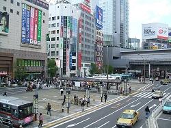 駅前商業施設イメージ