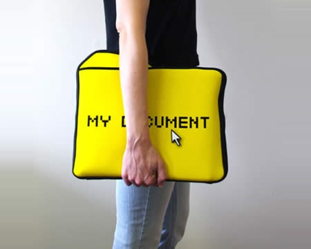 ↑ My Documents Laptop Sleeve