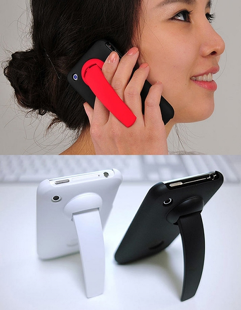 ↑ iClooly Clip Stand iPhone Case