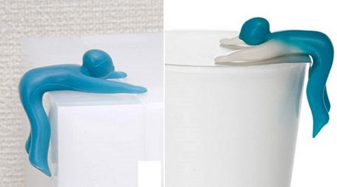 ↑ カップめん抑え(Cupmen Instant Noodle Figure Set)