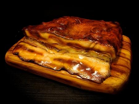 ↑ ベーコンなケーキ