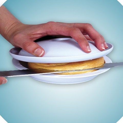 ↑ SAFE SLICE BAGEL SLICER