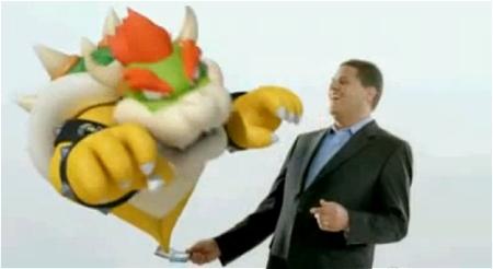 ↑ E3で展開された3DSのプロモーションビデオ。