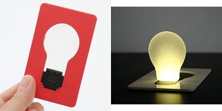 ↑ doulex 電球型ポケットライト