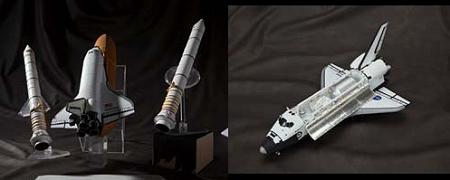 ↑ 大人の超合金 スペースシャトル エンデバー号