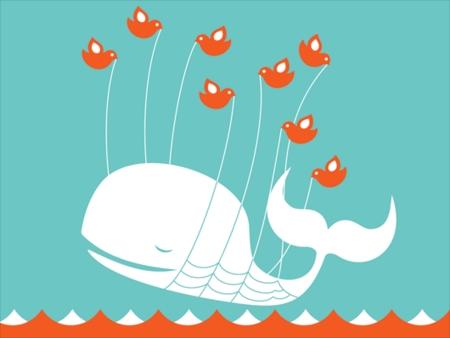 ↑ おなじみの「ツイッター過負荷クジラ」