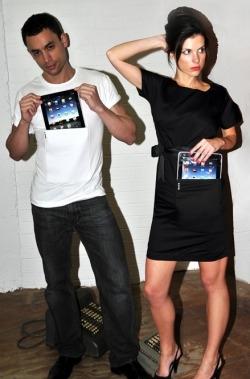 ↑ iPadを着こなそう。iTee&iDress