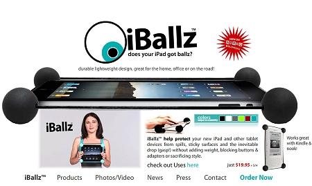 ↑ 「万が一」のリスクを減らせる「iBallz」。