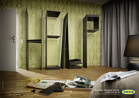 ↑ こちらは寝室用のタンス?