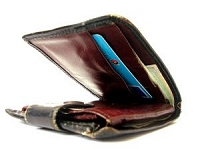 カードぎっしりなお財布