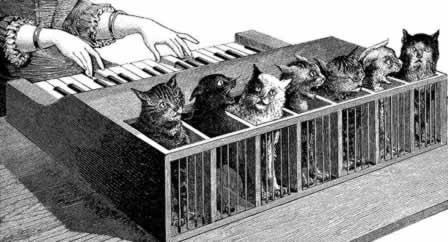 ↑ 猫オルガンのイラスト