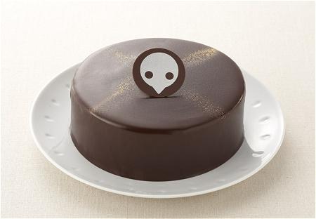 ↑ 『エヴァンゲリオンケーキ(使徒チョコレートケーキ)』本体