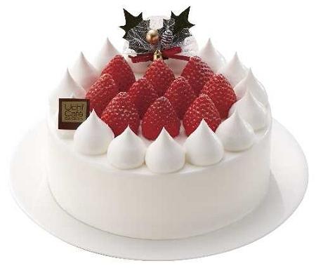 ↑ 「Uchi Cafe SWEETS(ウチカフェスイーツ)」な「苺のショートケーキ6号」