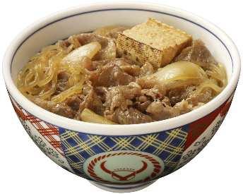 ↑ 牛鍋丼