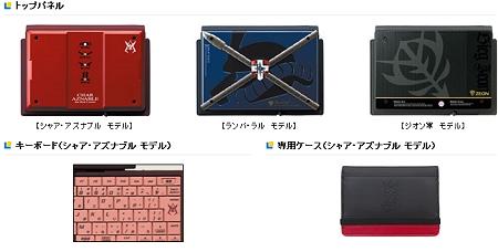 ↑ トップパネルとキーボード