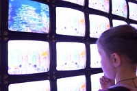 テレビと子供