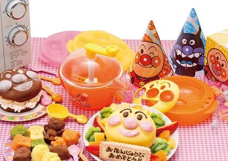 ↑ アンパンマン もこもこパンケーキ屋さんのパーティーDXセット